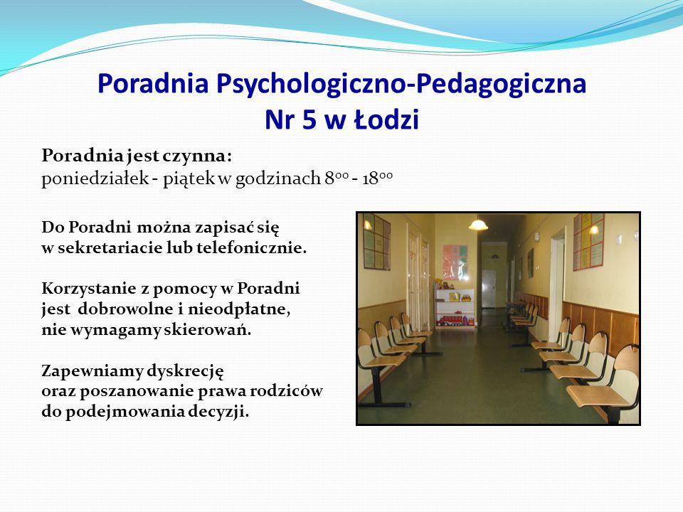 Poradnia Psychologiczno-Pedagogiczna Nr 5 w Łodzi