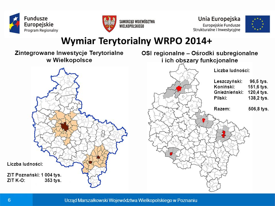 Wymiar Terytorialny WRPO 2014+