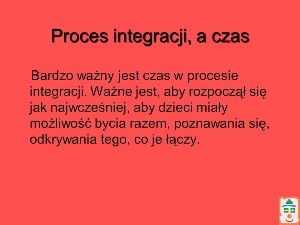 Proces integracji, a czas