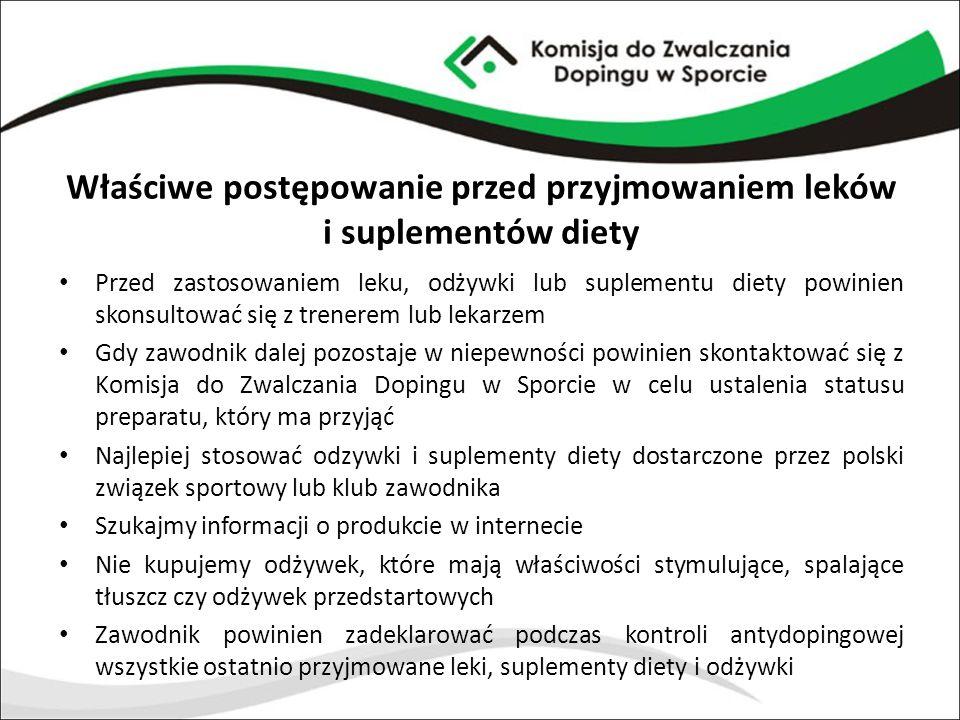 Właściwe postępowanie przed przyjmowaniem leków i suplementów diety