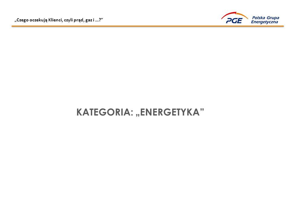 """KATEGORIA: """"ENERGETYKA"""