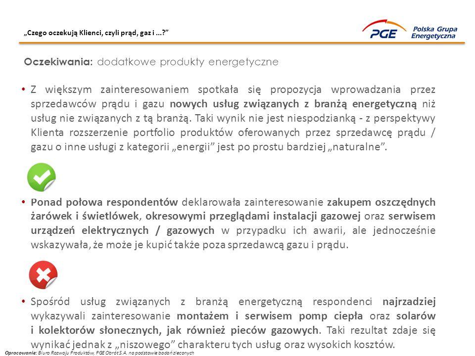 """""""Czego oczekują Klienci, czyli prąd, gaz i ..."""