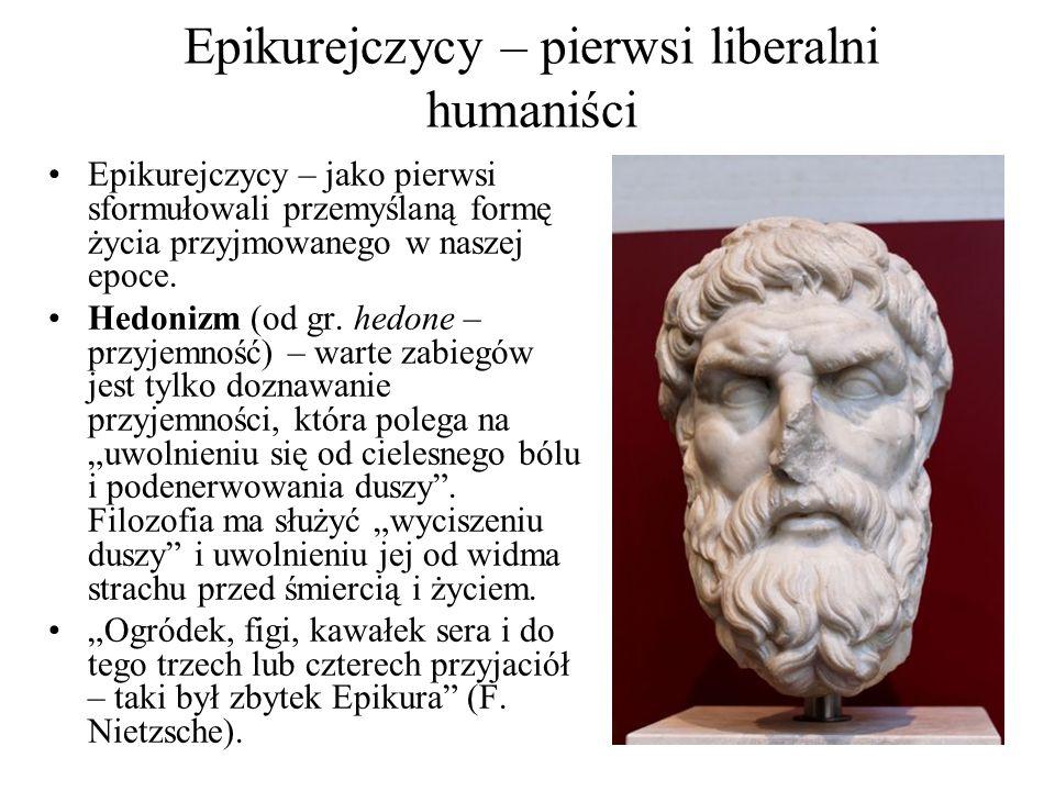 Epikurejczycy – pierwsi liberalni humaniści