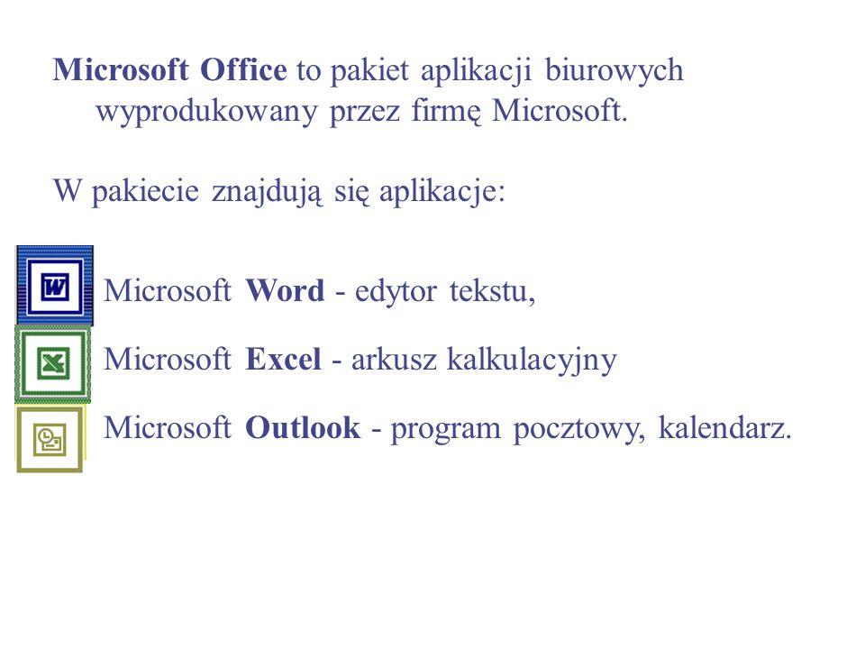 Microsoft Office to pakiet aplikacji biurowych wyprodukowany przez firmę Microsoft.