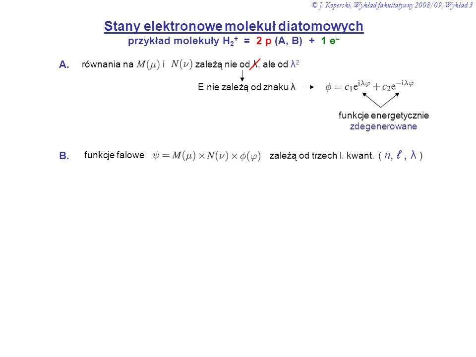 Stany elektronowe molekuł diatomowych