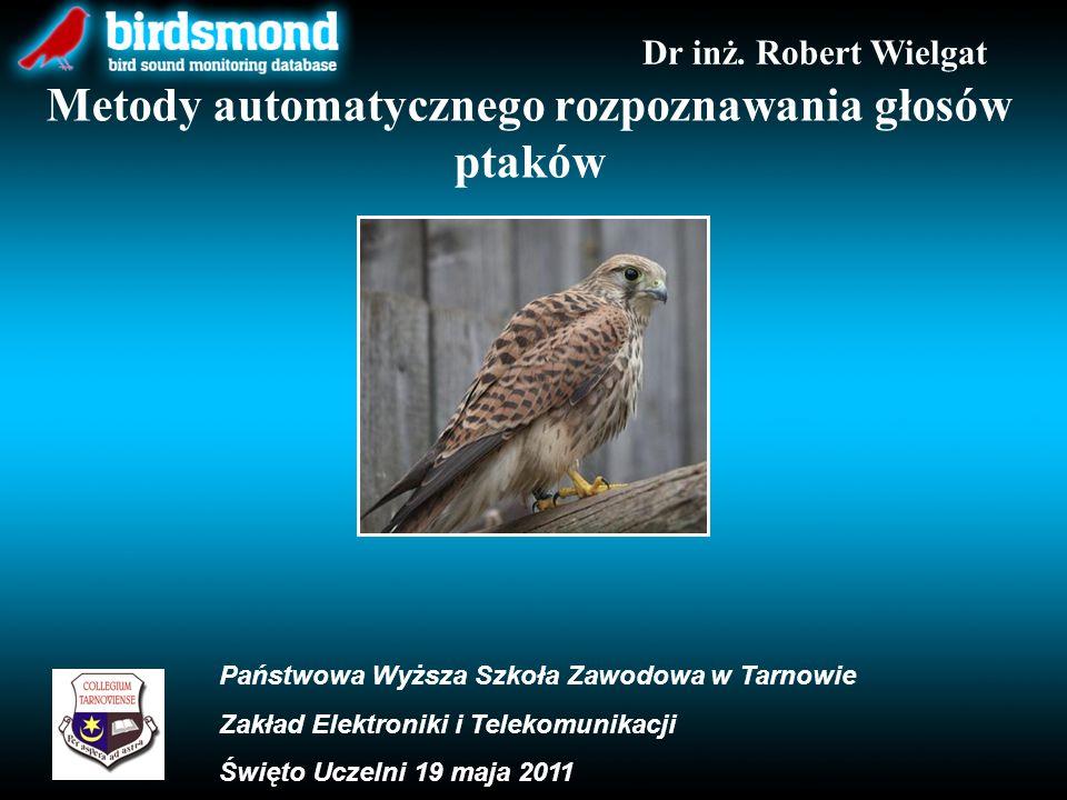 Metody automatycznego rozpoznawania głosów ptaków