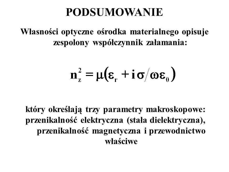 który określają trzy parametry makroskopowe: