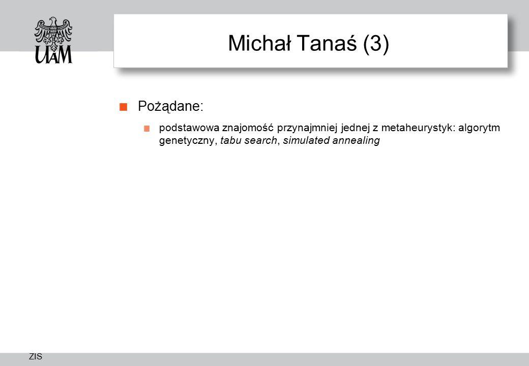 Michał Tanaś (3) Pożądane: