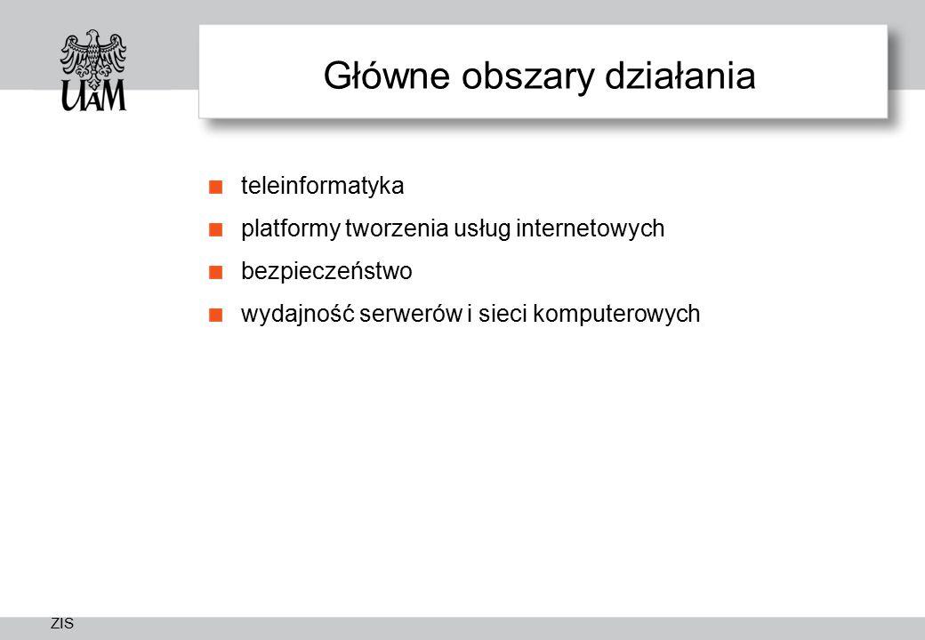 Główne obszary działania