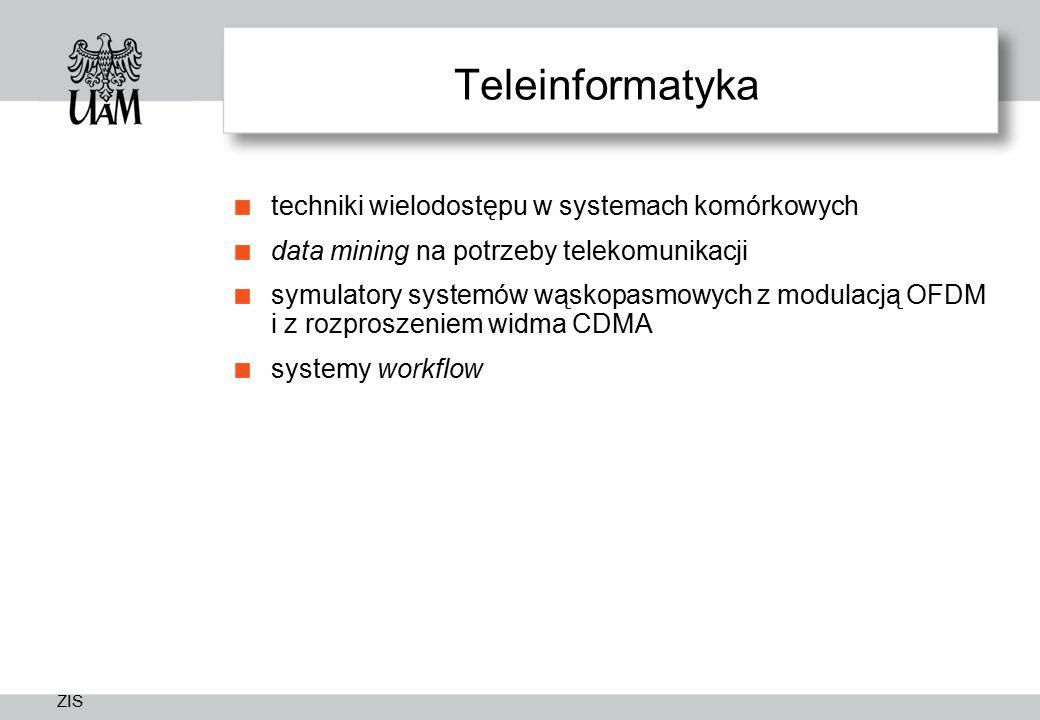 Teleinformatyka techniki wielodostępu w systemach komórkowych
