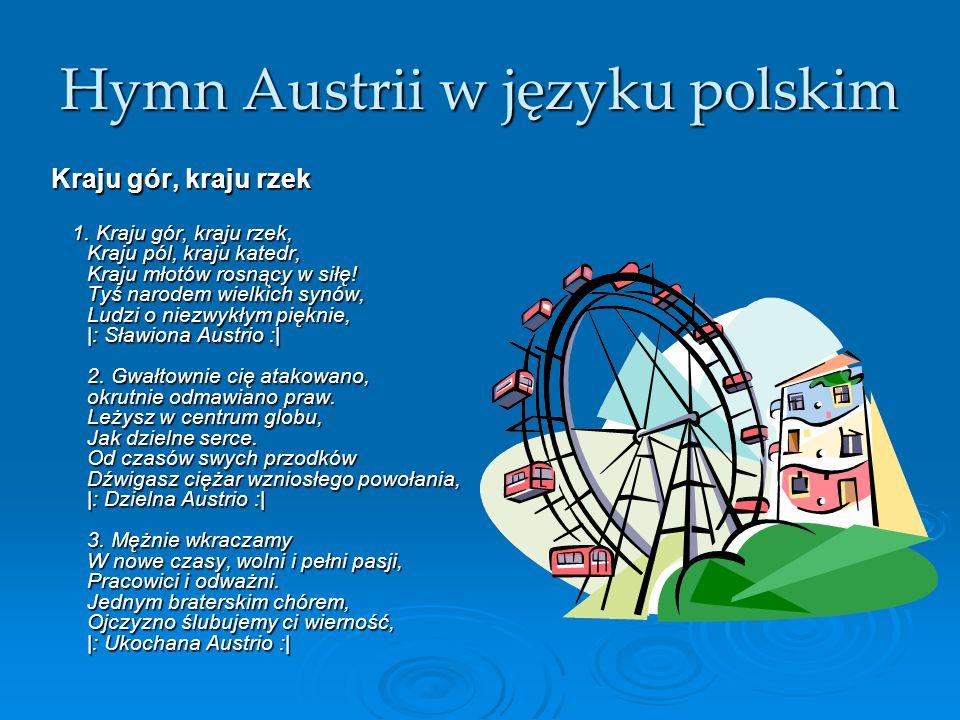 Hymn Austrii w języku polskim