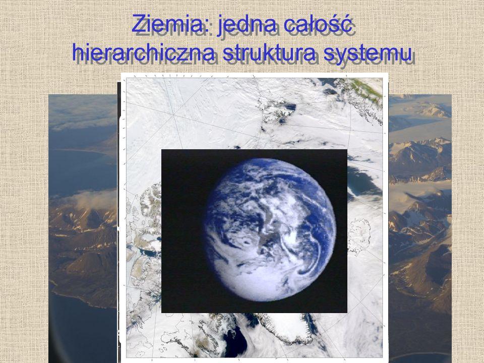 Ziemia: jedna całość hierarchiczna struktura systemu