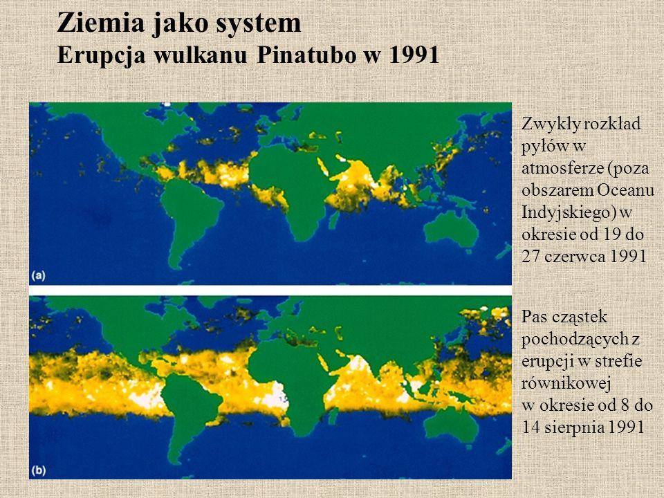 Ziemia jako system Erupcja wulkanu Pinatubo w 1991
