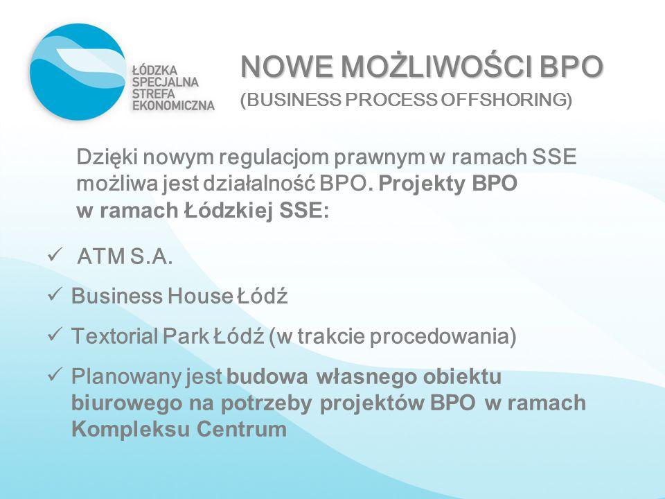 NOWE MOŻLIWOŚCI BPO (BUSINESS PROCESS OFFSHORING)