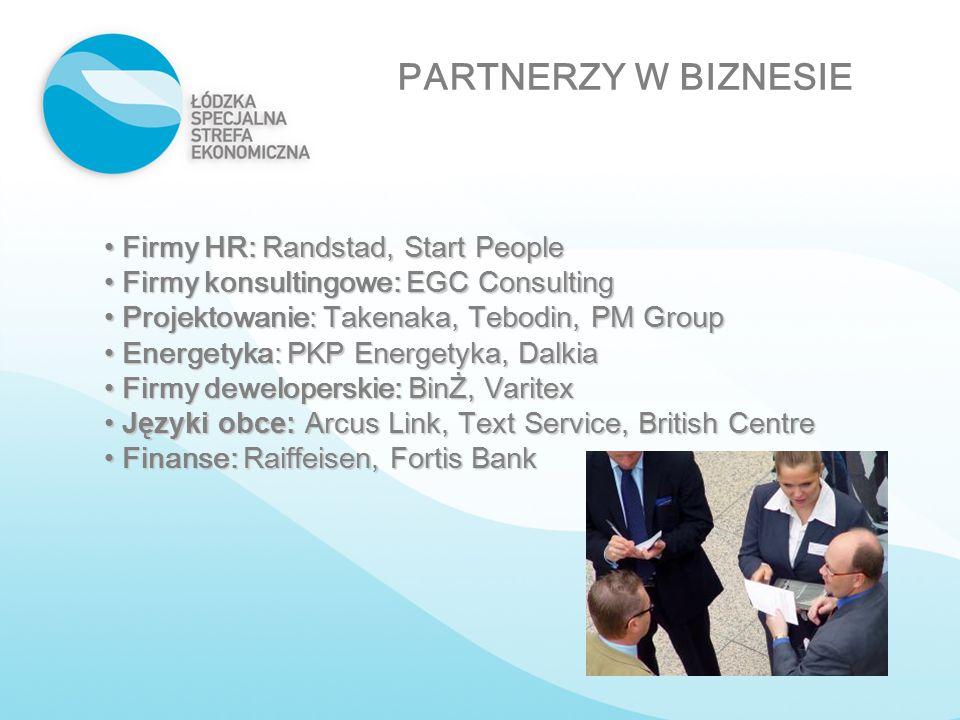 PARTNERZY W BIZNESIE Firmy HR: Randstad, Start People