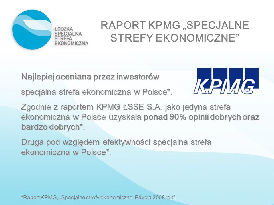 """RAPORT KPMG """"SPECJALNE STREFY EKONOMICZNE"""