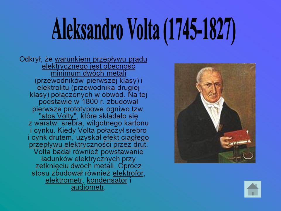 Aleksandro Volta (1745-1827)