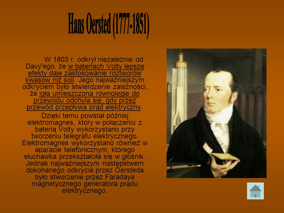 Hans Oersted (1777-1851)