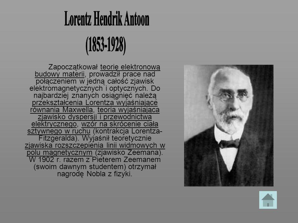 Lorentz Hendrik Antoon