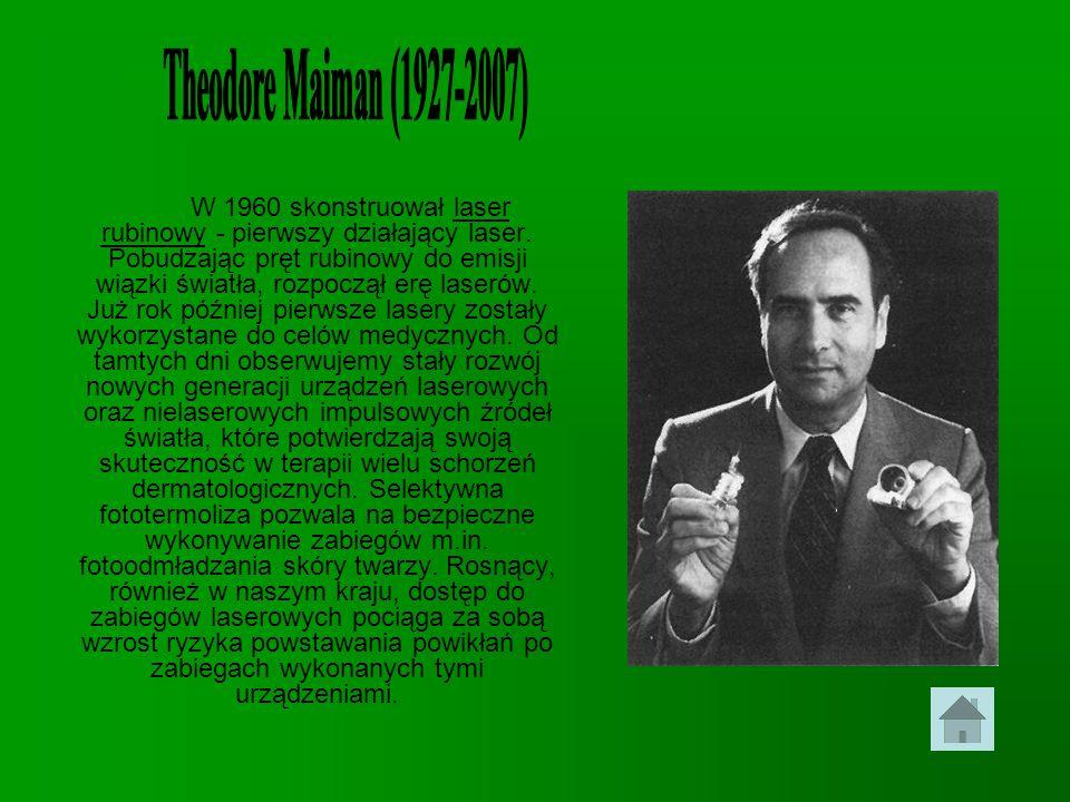 Theodore Maiman (1927-2007)