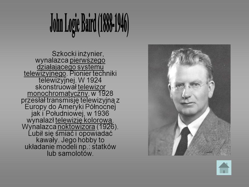 John Logie Baird (1888-1946)