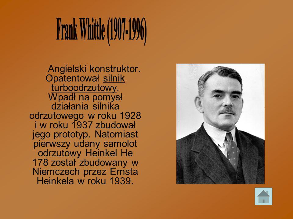 Frank Whittle (1907-1996)