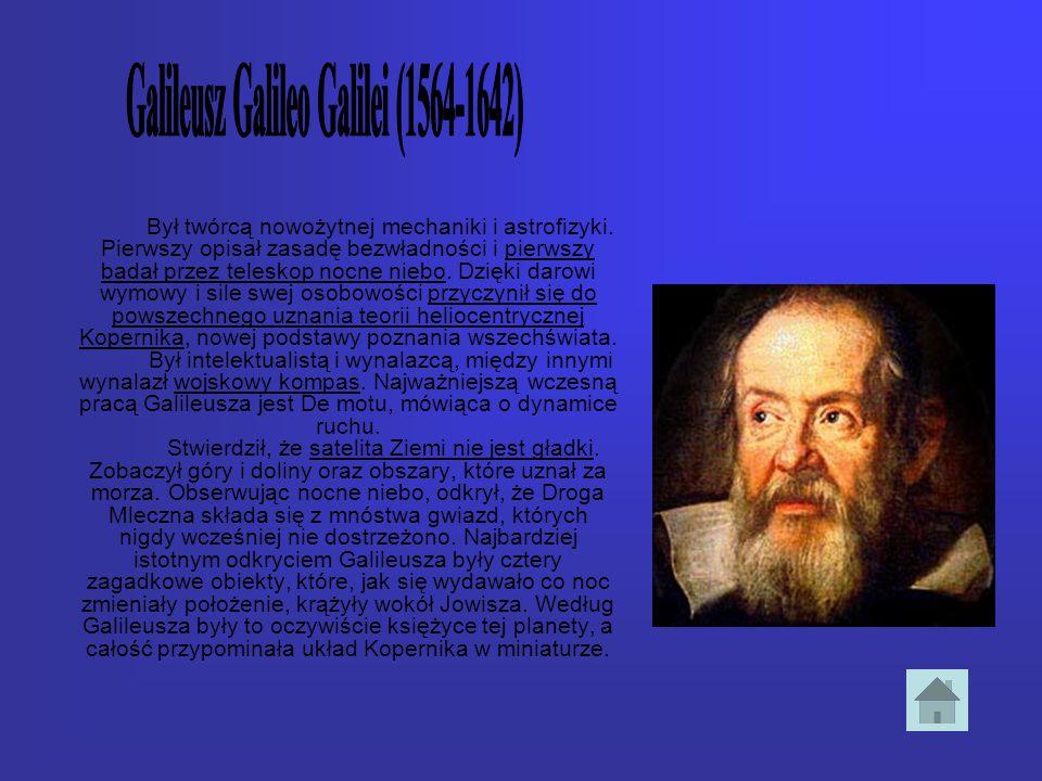 Galileusz Galileo Galilei (1564-1642)