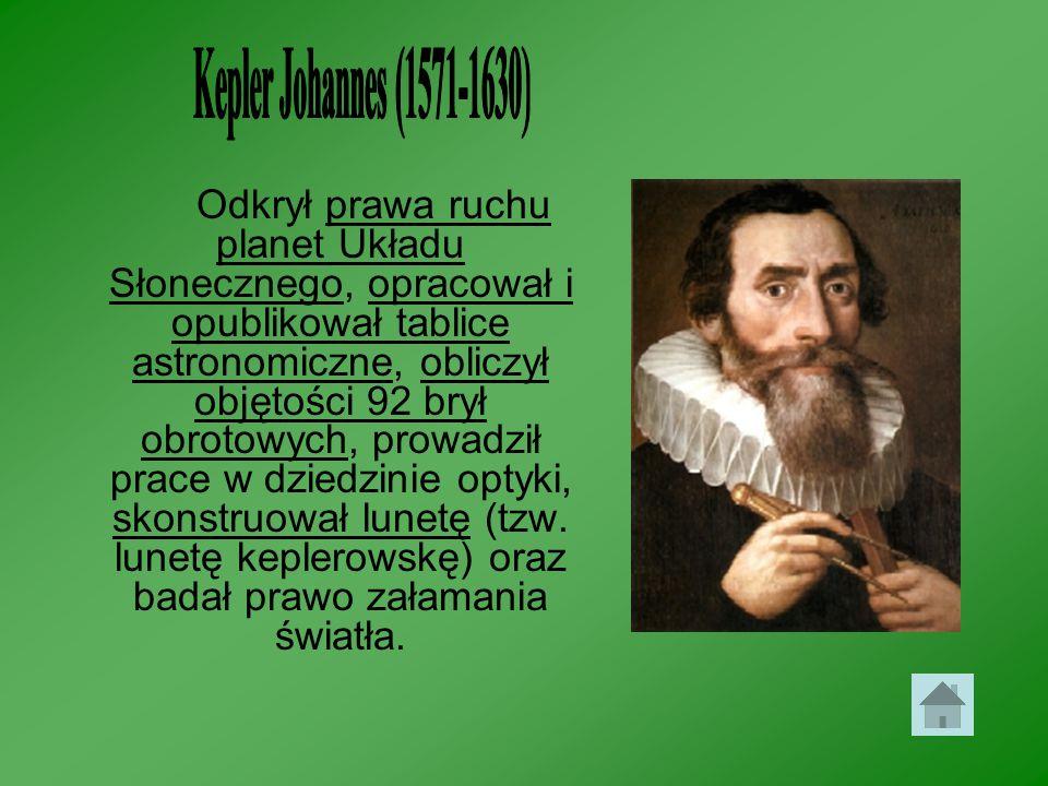 Kepler Johannes (1571-1630)