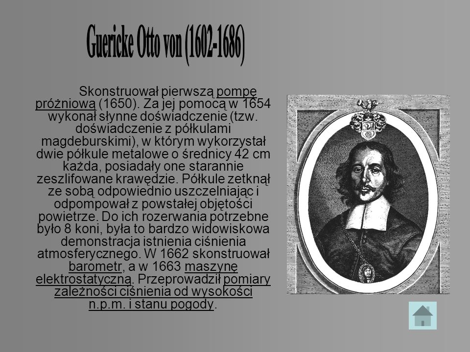 Guericke Otto von (1602-1686)