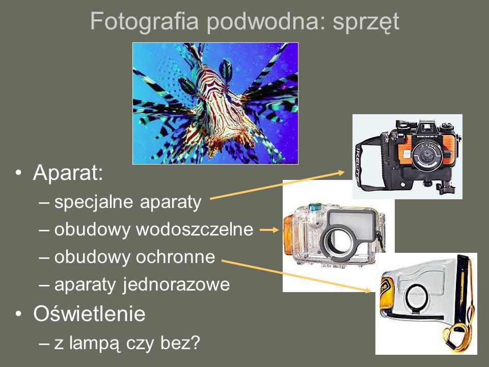 Fotografia podwodna: sprzęt