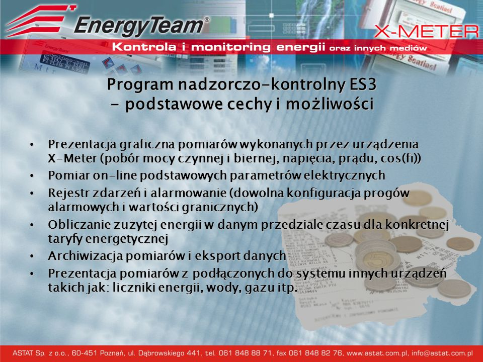 Program nadzorczo-kontrolny ES3 - podstawowe cechy i możliwości