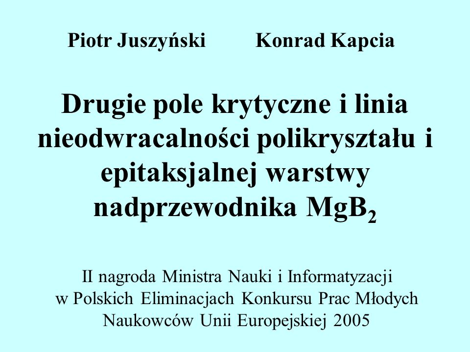 Piotr Juszyński Konrad Kapcia