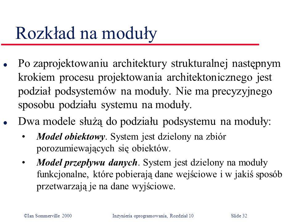 Rozkład na moduły