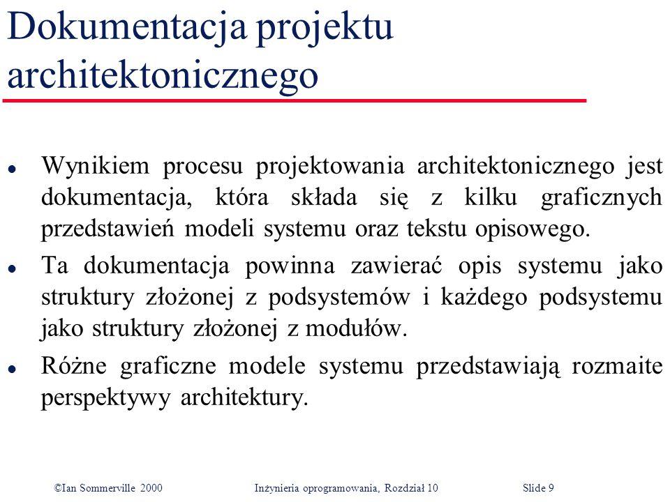 Dokumentacja projektu architektonicznego