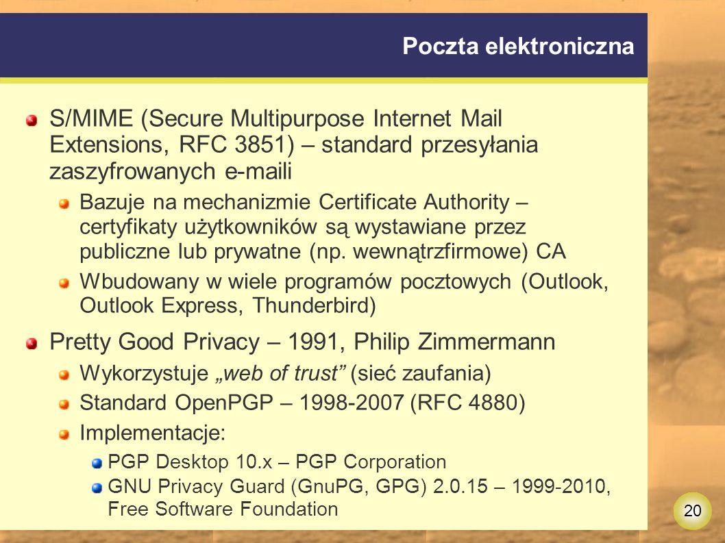 Pretty Good Privacy – 1991, Philip Zimmermann