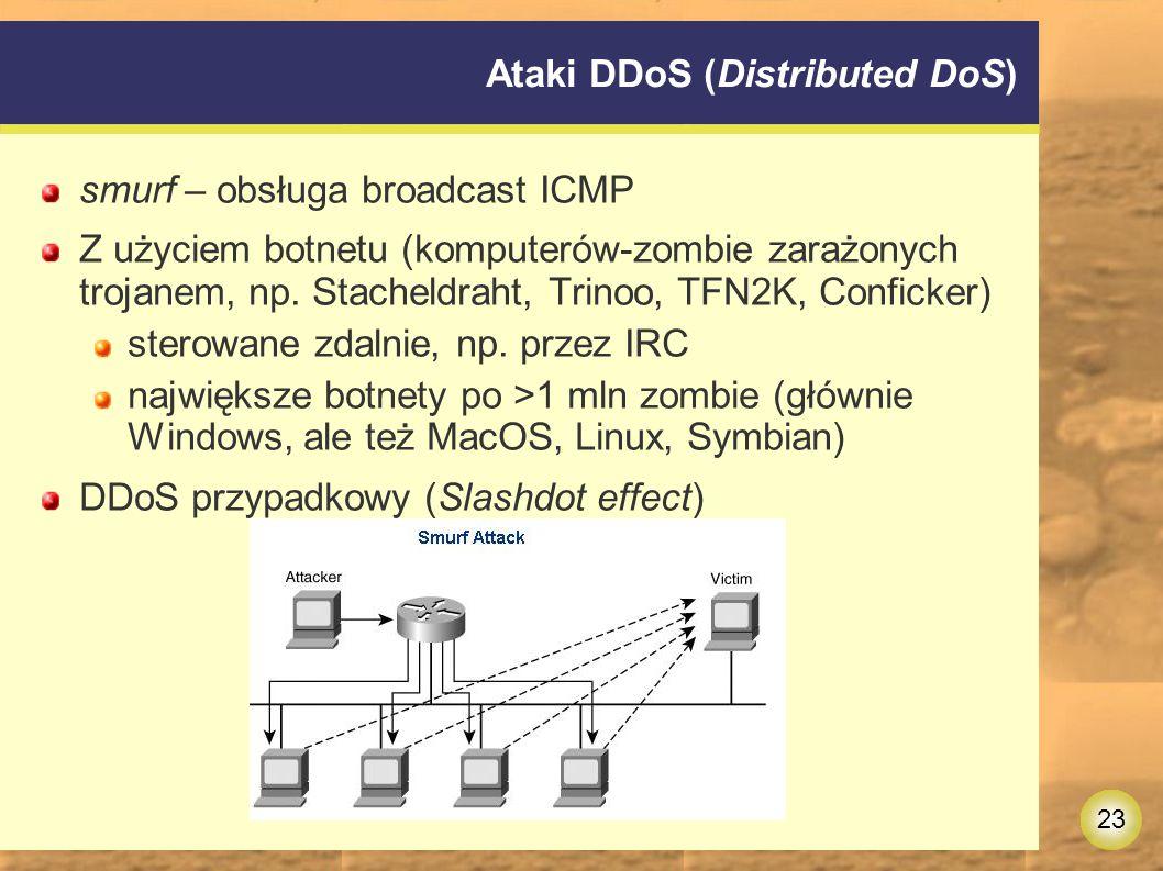 Ataki DDoS (Distributed DoS)