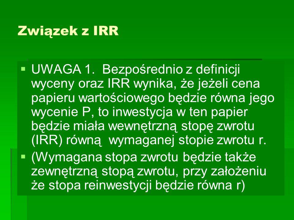 Związek z IRR