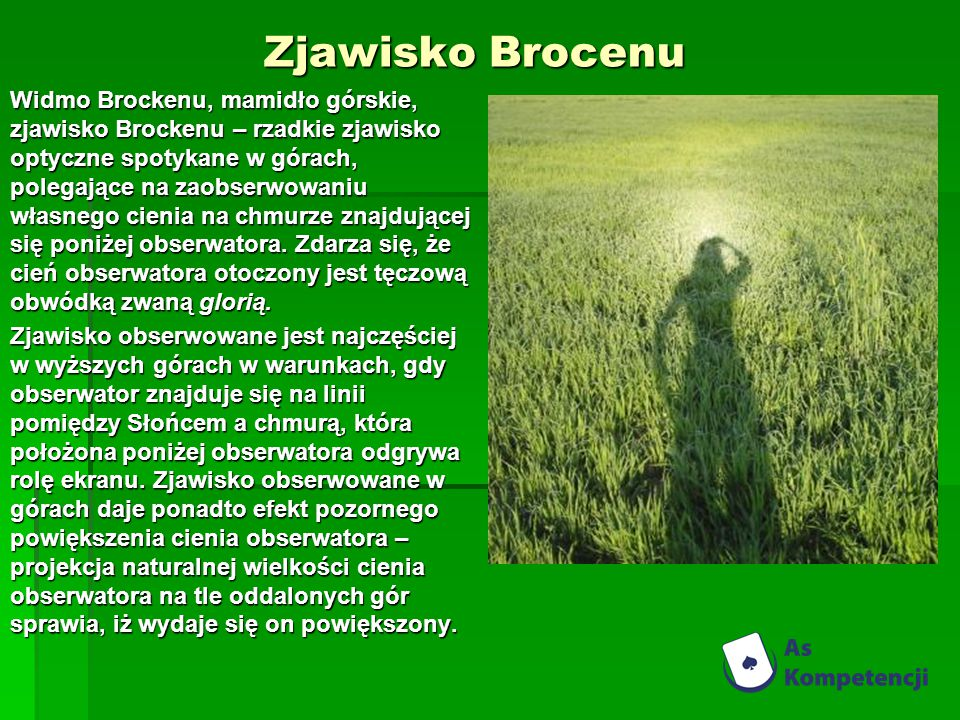 Zjawisko Brocenu
