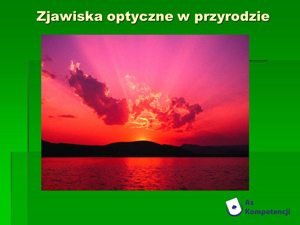 Zjawiska optyczne w przyrodzie
