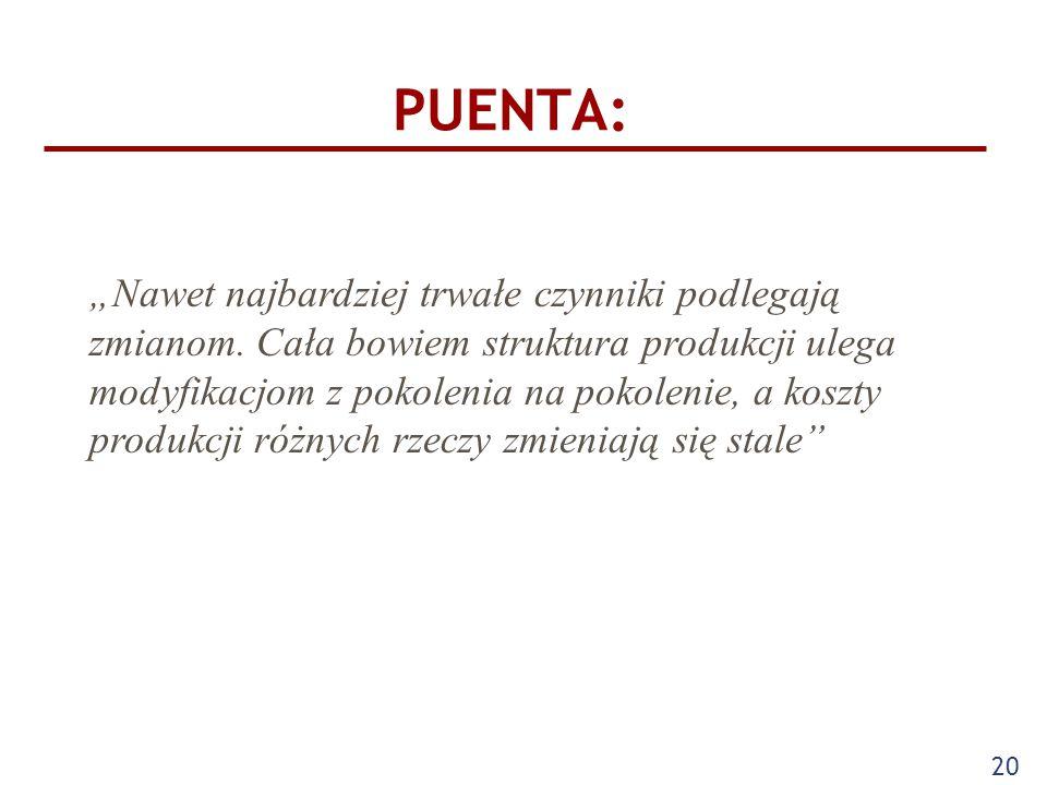 PUENTA: