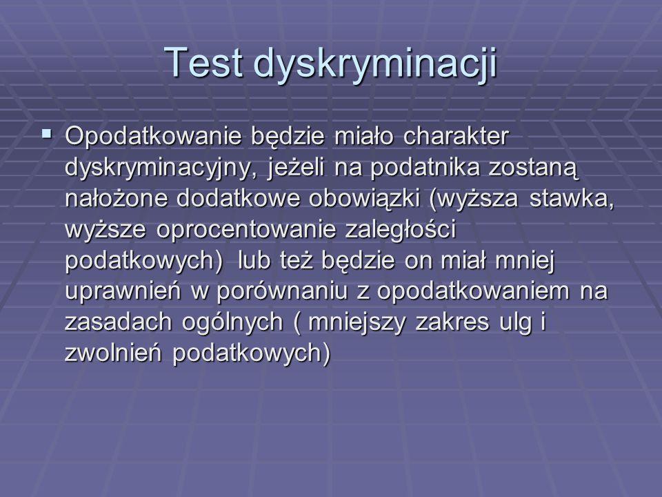 Test dyskryminacji