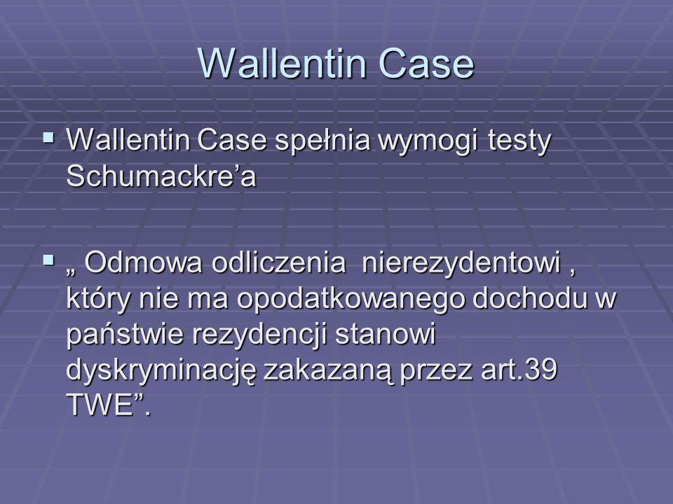 Wallentin Case Wallentin Case spełnia wymogi testy Schumackre'a