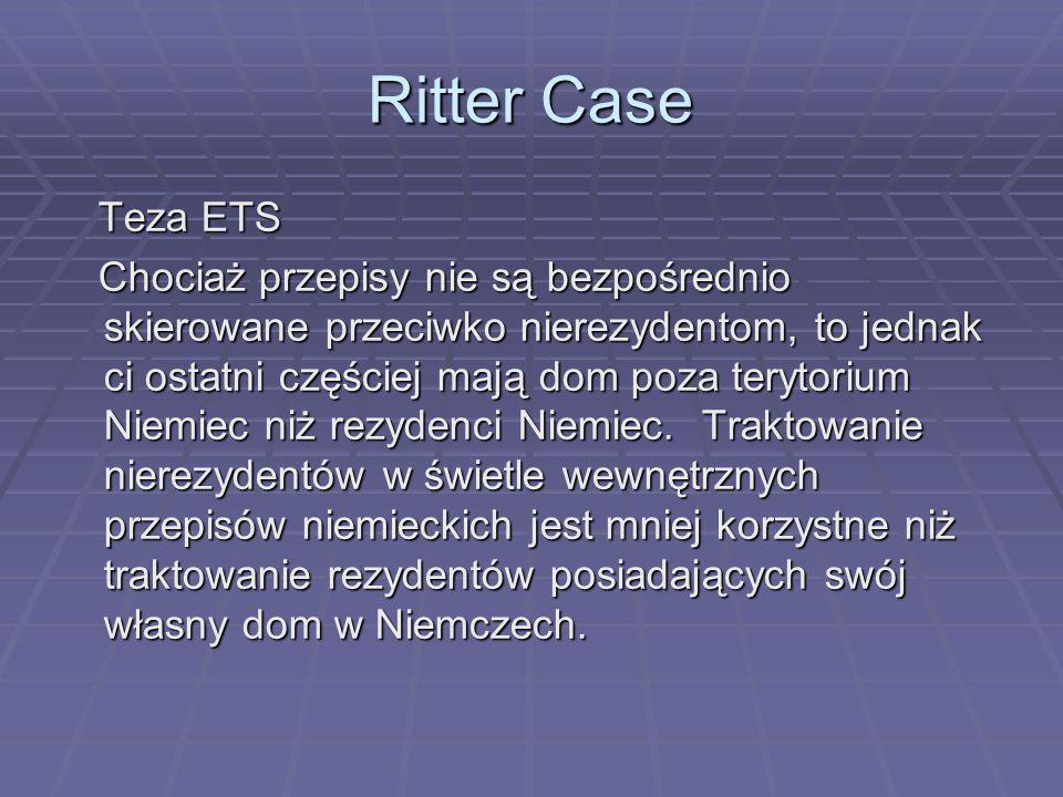 Ritter Case Teza ETS.