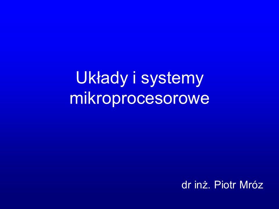 Układy i systemy mikroprocesorowe