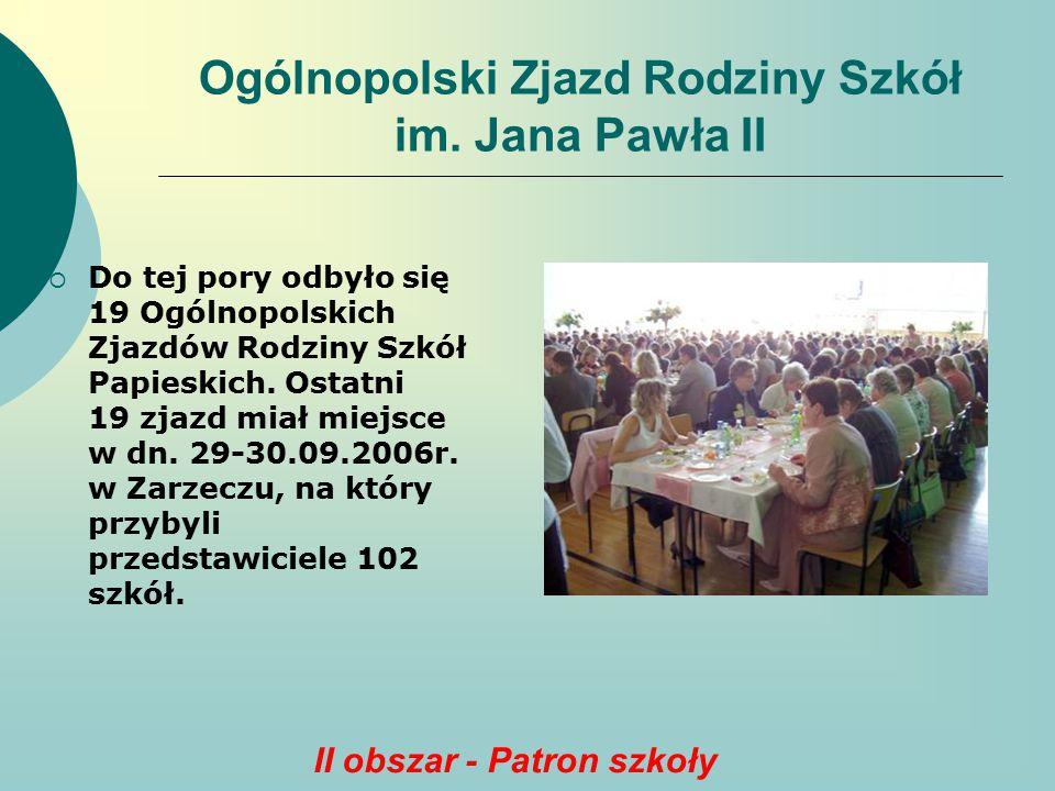 Ogólnopolski Zjazd Rodziny Szkół im. Jana Pawła II