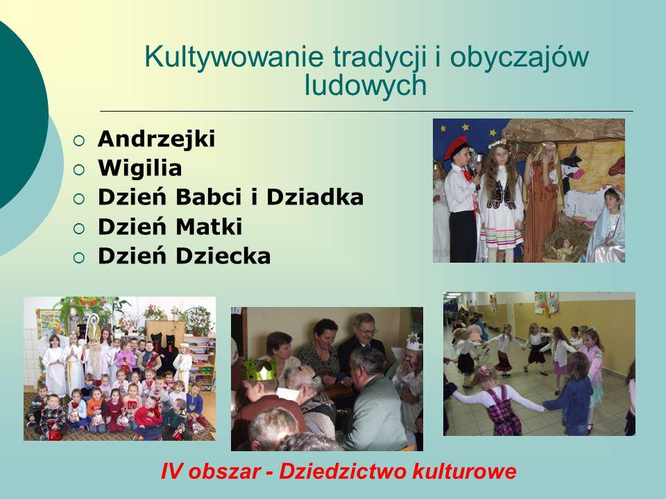 Kultywowanie tradycji i obyczajów ludowych