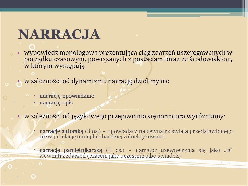 NARRACJA