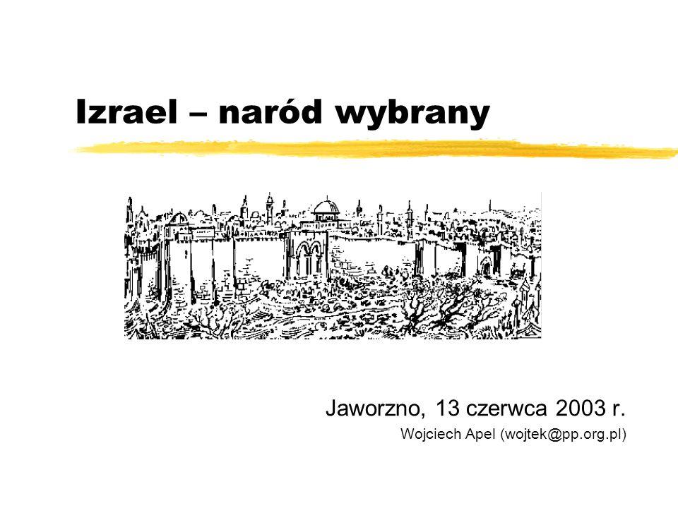 Jaworzno, 13 czerwca 2003 r. Wojciech Apel (wojtek@pp.org.pl)