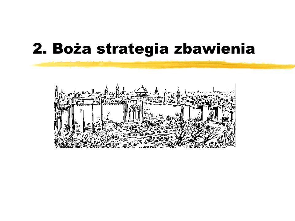 2. Boża strategia zbawienia