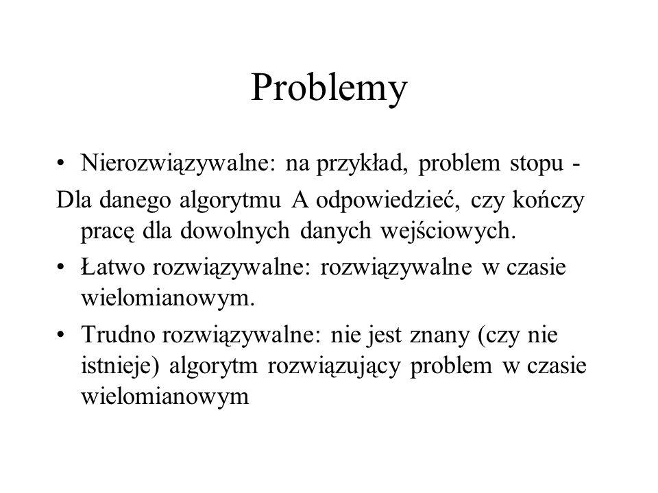 Problemy Nierozwiązywalne: na przykład, problem stopu -
